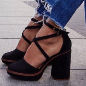 FREE PEOPLE Remi Platform Sandal Strappy Heels